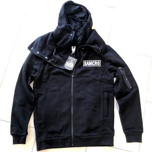 Other - Sons Of Anarchy Reaper Layering Hooded Zip Jacket